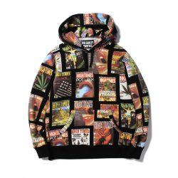 HIGH TIMES × WACKO MARIA HEAVY WEIGHT PULLOVER HOODED SWEAT SHIRTS