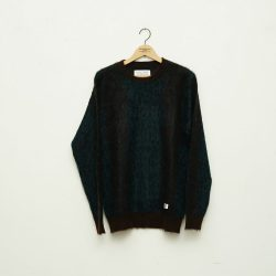 LEOPARD MOHAIR SWEATER