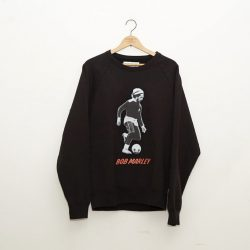 ×BOB MARLEY WASHED HEAVY WEIGHT CREW NECK SWEAT SHIRTS