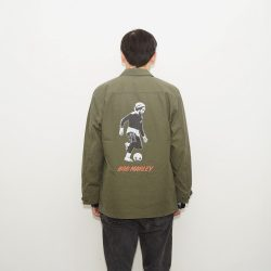 ×BOB MARLEY FATIGUE JACKET