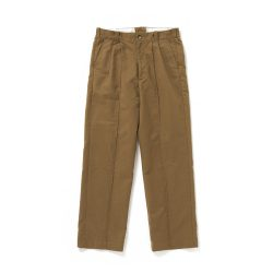 FRONT TUCK ARMY TROUSER