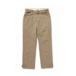 BELTED MOTOR CYCLE TROUSER