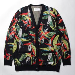 BIRD OF PARADISE JACQUARD CARDIGAN