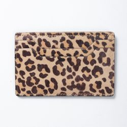 LEOPARD CARD CASE
