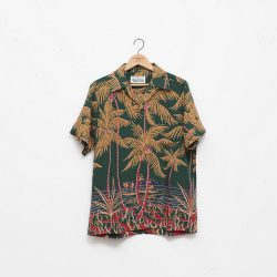 """PALMS TREE"" S/S HAWAIAN SHIRTS"