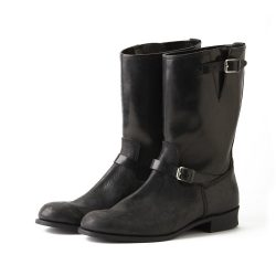 COW HIDE ENGINEER BOOTS (GUIDI)