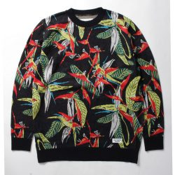 BIRD OF PARADISE JACQUARD SWEATER