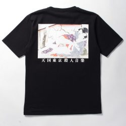 WASHED HEAVY WEIGHT CREW NECK T-SHIRT ( TYPE-6 )