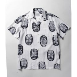 NECK FACE S/S HAWAIAN SHIRTS