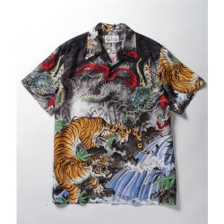 TIM LEHI / S/S HAWAIAN SHIRTS (TYPE-1)