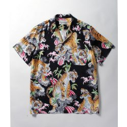 TIM LEHI / S/S HAWAIAN SHIRTS (TYPE-2)