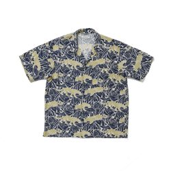 ORIGINAL PRINTED OPEN COLLAR SHIRTS (PANTHER short sleeve)