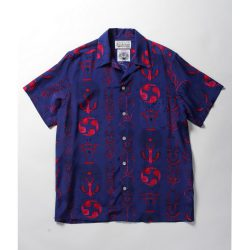 WOLF'S HEAD S/S HAWAIAN SHIRTS