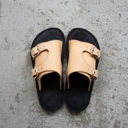 HJL ROUGH OUT LEATHER SANDAL