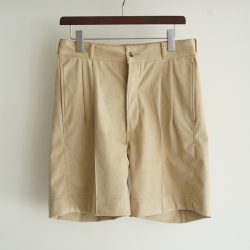 EXCLUSIVE ARTIFICIAL LEATHER SHORTS