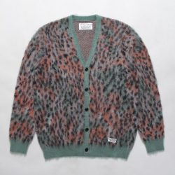 LEOPARD MOHAIR CARDIGAN ( TYPE-1 )