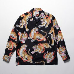 TIM LEHI L/S HAWAIAN SHIRTS(TYPE-1)