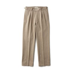 SIDE BUCKLE GURKHA TROUSER