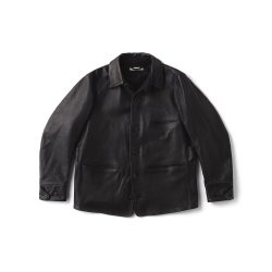 HORSEHIDE AUTOMOBILE COAT
