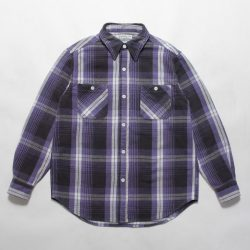 FLANNEL CHECK REGULAR COLLAR SHIRT