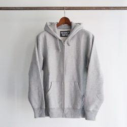 HEAVY WEIGHT FULL ZIP HOODED SWEAT SHIRT ( TYPE-1 )
