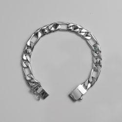 TAXCO SILVER CHAIN BRACELET / 10mm