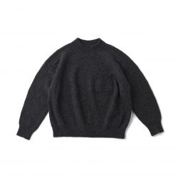 MOCK-NECK SWEATER