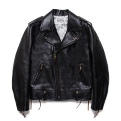 DJ HARVEY DOUBLE LEATHER JACKET