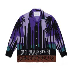 DJ HARVEY L/S HAWAIAN SHIRTS