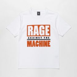 RAGE AGAINST THE MACHINE / WASHED HEAVY WEIGHT CREW NECK T-SHIRT (TYPE-3)
