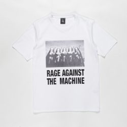 RAGE AGAINST THE MACHINE / WASHED HEAVY WEIGHT CREW NECK T-SHIRT (TYPE-4)