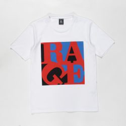 RAGE AGAINST THE MACHINE / WASHED HEAVY WEIGHT CREW NECK T-SHIRT (TYPE-5)