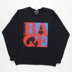 RAGE AGAINST THE MACHINE / CREW NECK SWEAT SHIRT (TYPE-5)