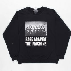 RAGE AGAINST THE MACHINE / CREW NECK SWEAT SHIRT (TYPE-4)