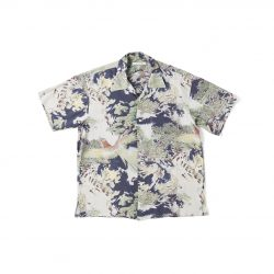 ORIGINAL PRINTED OPEN COLLAR SHIRTS(-ORIENTAL-short sleeve)