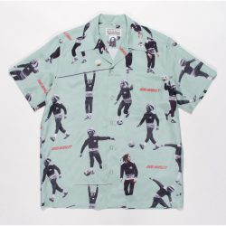 BOB MARLEY / S/S HAWAIIAN SHIRT ( TYPE-2 )