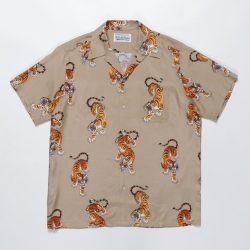 TIMLEHI / S/S HAWAIIAN SHIRT(TYPE-4)