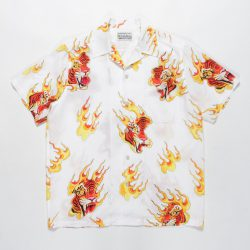 TIMLEHI / S/S HAWAIIAN SHIRT(TYPE-3)