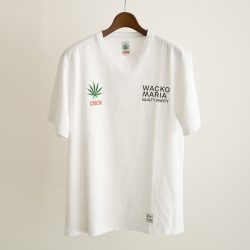 HIGHTIMES / WASHED HEAVY WEIGHT CREW NECK T-SHIRT