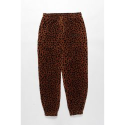 LEOPARD VELOUR PANTS
