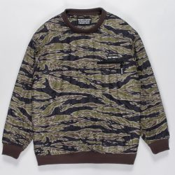 TIGERCAMO MID LAYER PULLOVER JACKET