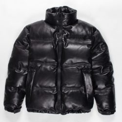 LEATHER DOWN JACKET (TYPE-1)