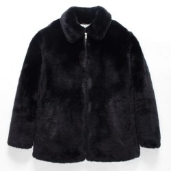 FUR COACH JACKET