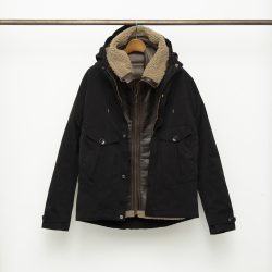 TEMPEST ANORAK (W/AVIATOR SHEARLING HOODED LINER)
