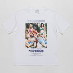 NICE DREAMS / WASHED HEAVY WEIGHT CREW NECK T-SHIRT(TYPE-1)
