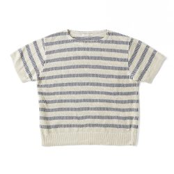 BOAT-NECK EARLY BASQUE(short sleeve)