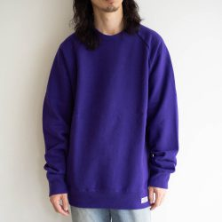 WASHED HEAVY WEIGHT CREW NECK SWEAT SHIRTS (TYPE-1)